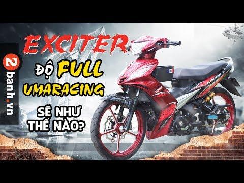 Exciter 2010 độ khủng với dàn nội công UmaRacing - Thời lượng: 18:27.