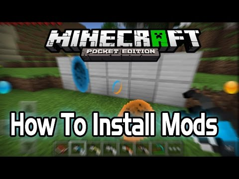 how to download mods for minecraft pe