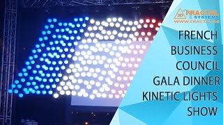 French Business Council - Kinetic Lights Show