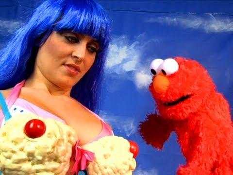 Katy Perry & Elmo UNRELEASED Sesame Street Footage