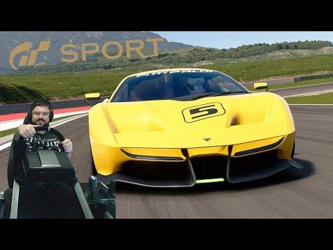 Gran Turismo Sport - ценим эксклюзивный Fittipaldi EF7 VGT и катки в ежедневном онлайне