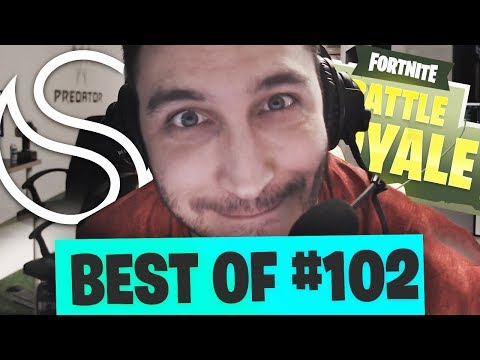 BEST OF FORTNITE FR #102 ► UN NOUVEAU STREAMER SUR LA TV FORTNITE ??