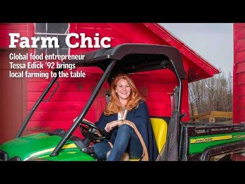 Farm Chic: Tessa Edick '92 (видео)