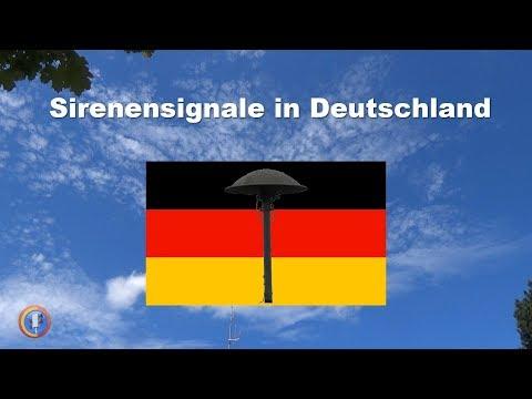 Bedeutung der aktuellen Sirenensignale in Deutschland