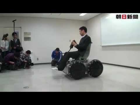 من اليابان: عربة شخصية صغيرة تتحرك في كل الاتجاهات!