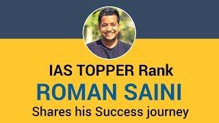 Video IAS Topper  - Roman Saini UPSC IAS Topper 2013 Shares his Success journey download in MP3, 3GP, MP4, WEBM, AVI, FLV January 2017