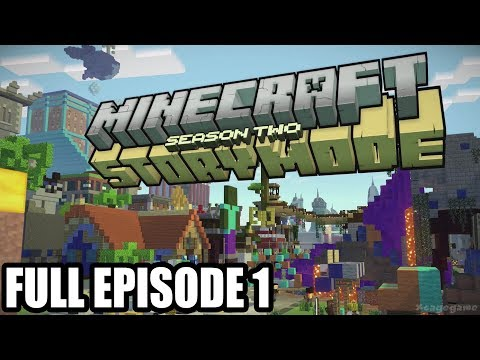 Minecraft Story Mode Season 2 FULL EPISODE 1 Gameplay Walkthrough - No Commentary
