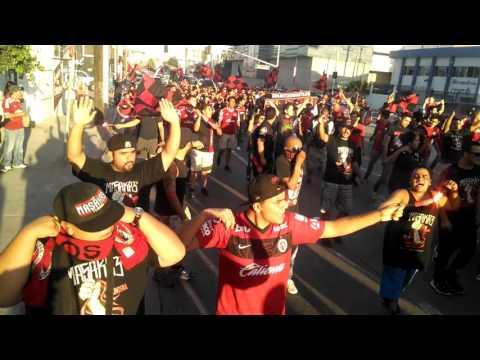 Caravana La Masakre Tijuana vs Jaguares 22Sep2015 - La Masakr3 - Tijuana - México - América del Norte