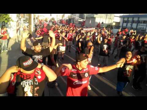 Caravana La Masakre Tijuana vs Jaguares 22Sep2015 - La Masakr3 - Tijuana