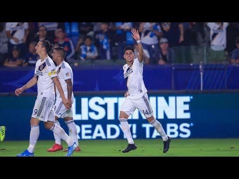 Video: GOAL: Joe Corona's header puts the LA Galaxy ahead of Sporting KC