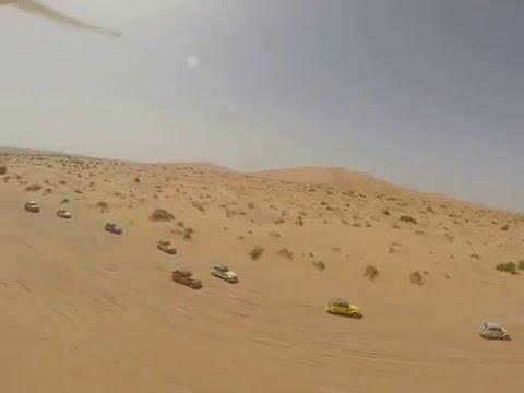 accidente dron