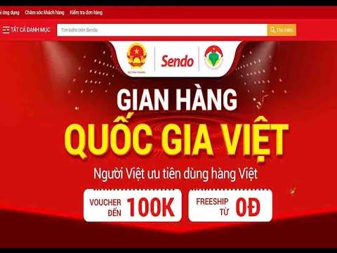 Gian hàng Việt trực tuyến Quốc gia – Tích cực hỗ trợ tiêu thụ nông sản