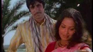 Inteezar Karogi - Amitabh Bacchan&Padma Khanna - Saudagar