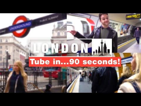 🇬🇧 How To Use The London Underground 🇬🇧 | Travel better in ENGLAND!