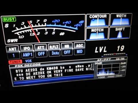 FTDX3000 YAESU PSK31 15M