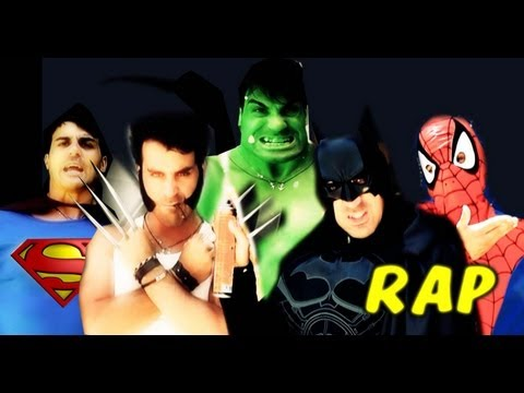 BATTAGLIA RAP EPICA - SUPER EROI MARVEL VS DC - davidekyo