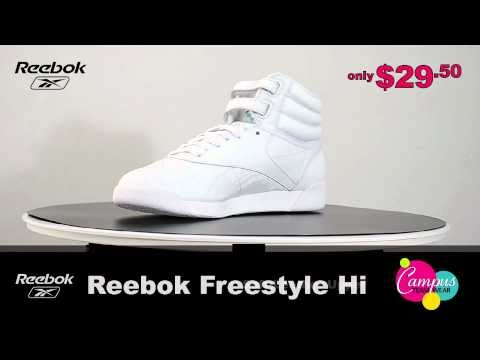campusteamwearvideos - The Reebok Freestyle cheerleading shoe is a popular option in cheer footwear, meshing classic style with modern updates. One of the few high-top cheerleading...