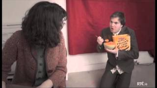 Really fucking loud cereal and dry skin cells parody.