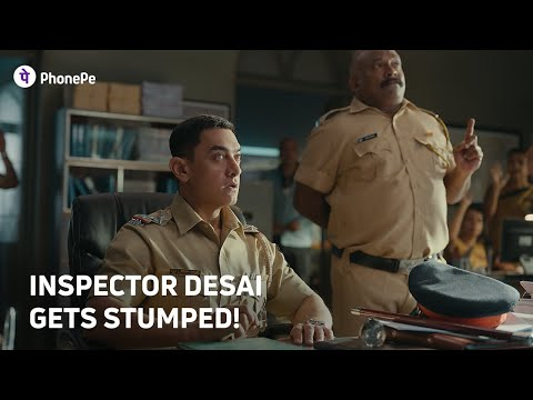 PhonePe-#KarteJaBadhteJa | Inspector Desai