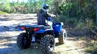 7. My New 2012 Polaris Sportsman 400HO