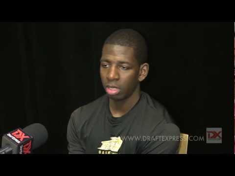 Andrew Nicholson Draft Combine Interview