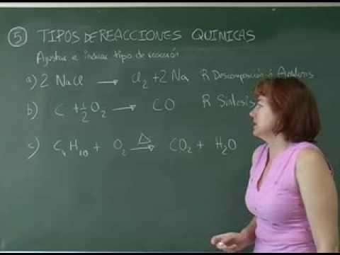 4º Balanceo de ecuaciones químicas (ejercicios)