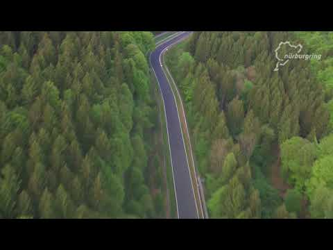The beauty of the Nordschleife from air