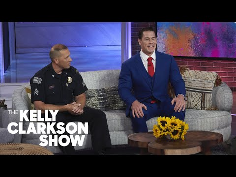 John Cena One-Ups His Police Officer Brother Yet Again
