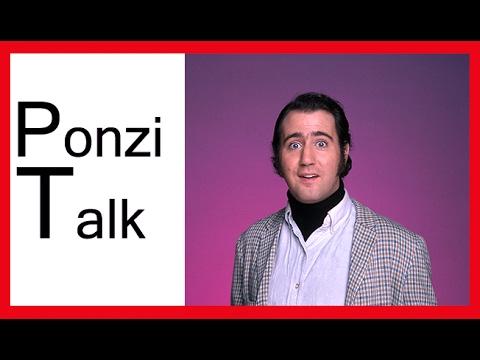 Ponzi talk   Έχει όρια το χιούμορ ?