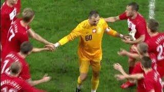 Więcej na http://sport.tvp.pl/ Spotkanie Polska - Liechtenstein było 60. meczem Jerzego Dudka w narodowych barwach.