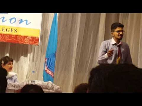 Urdu Funny Speech in PGC lahore