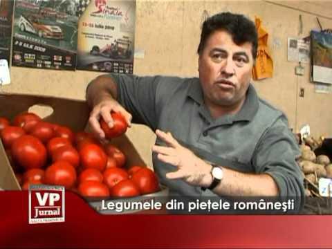 Legumele din pieţele româneşti