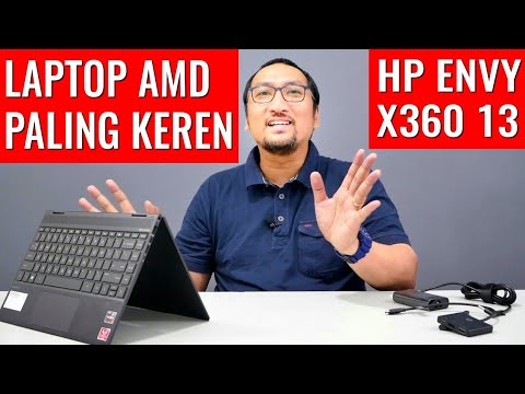 Laptop 2in1 AMD Elegan Terbaik: Review HP Envy X360 13 Ryzen 7 3700U - Indonesia