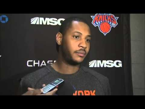 Video: Carmelo Anthony on Phil Jackson