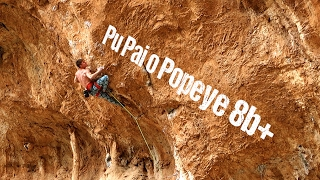 Pu Pai o Popeye 8b+ / 5.14a (Hada, Leonidio) | Second Ascent by Mani the Monkey