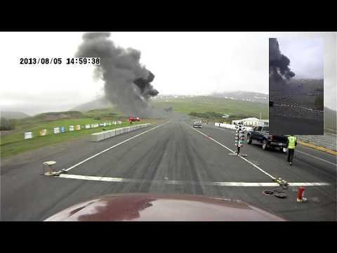 Trágico acidente de jatinho na Islândia