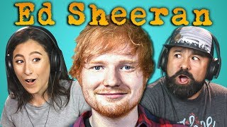 Ed Sheeran reacted to by Adults! Original video links below! Subscribe to Ed Sheeran: https://www.youtube.com/user/EdSheeran ...