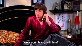 Video Funniest moments of Howard Wolowitz from Season 1 of The Big Bang Theory(with subs) 1080p HD MP3, 3GP, MP4, WEBM, AVI, FLV Oktober 2018