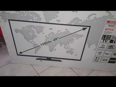 telefunken te49269s26y2p smart tv 4k hdr