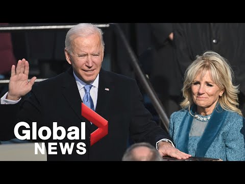 Joe Biden takes oath of office, sworn-in as 46th President of the United States