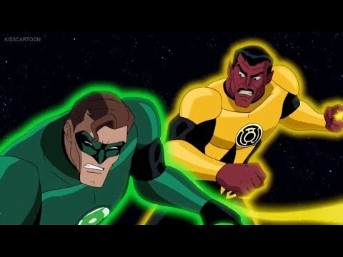 Hal Jordan vs Sinestro part 3/3 (Green Lantern: First Flight)