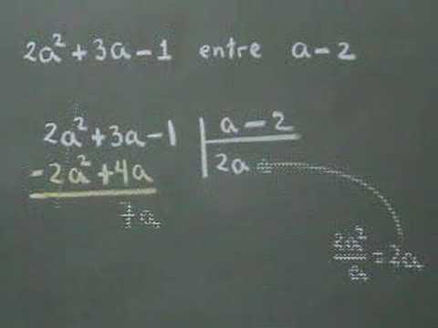 Vídeos Educativos.,Vídeos:División de polinomios