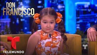 Download Video Niña rusa de 5 años habla 8 idiomas | Don Francisco Te Invita | Entretenimiento MP3 3GP MP4