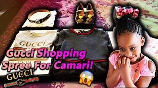 Gucci Shopping Spree For Camari!