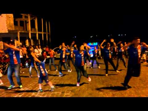 Divulgação do Renascer 2014 com Flash mob