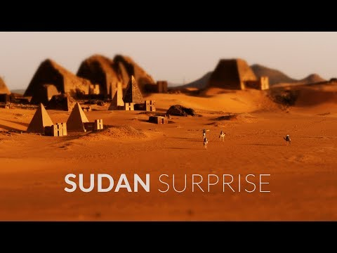 Sudan Surprise (4k - Time Lapse - Aerial - Tilt Shift)