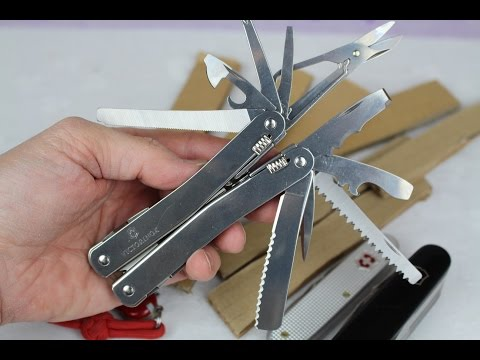 VICTORINOX SwissTool Spirit XC (w/ Ratchet) REVIEW