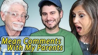 Video Reading Mean Comments with my Parents MP3, 3GP, MP4, WEBM, AVI, FLV Januari 2018