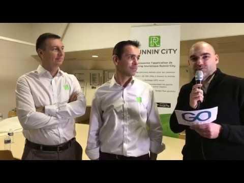 Interview des dirigeants de LM Sport tourisme, créateurs de l'application RunninCity
