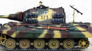 1/16  RC Tank Jagdtiger#323(kingtiger remodeled)tamiya DMD MF タミヤ フルオペ